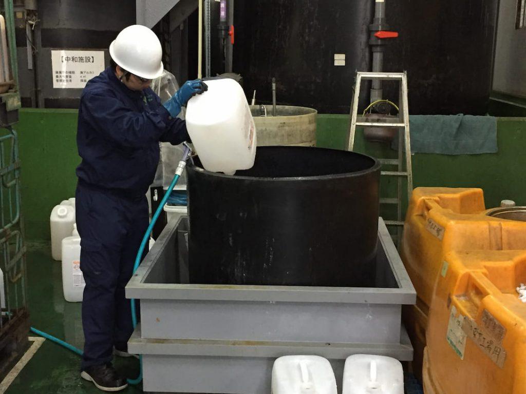 東京工場研修の様子