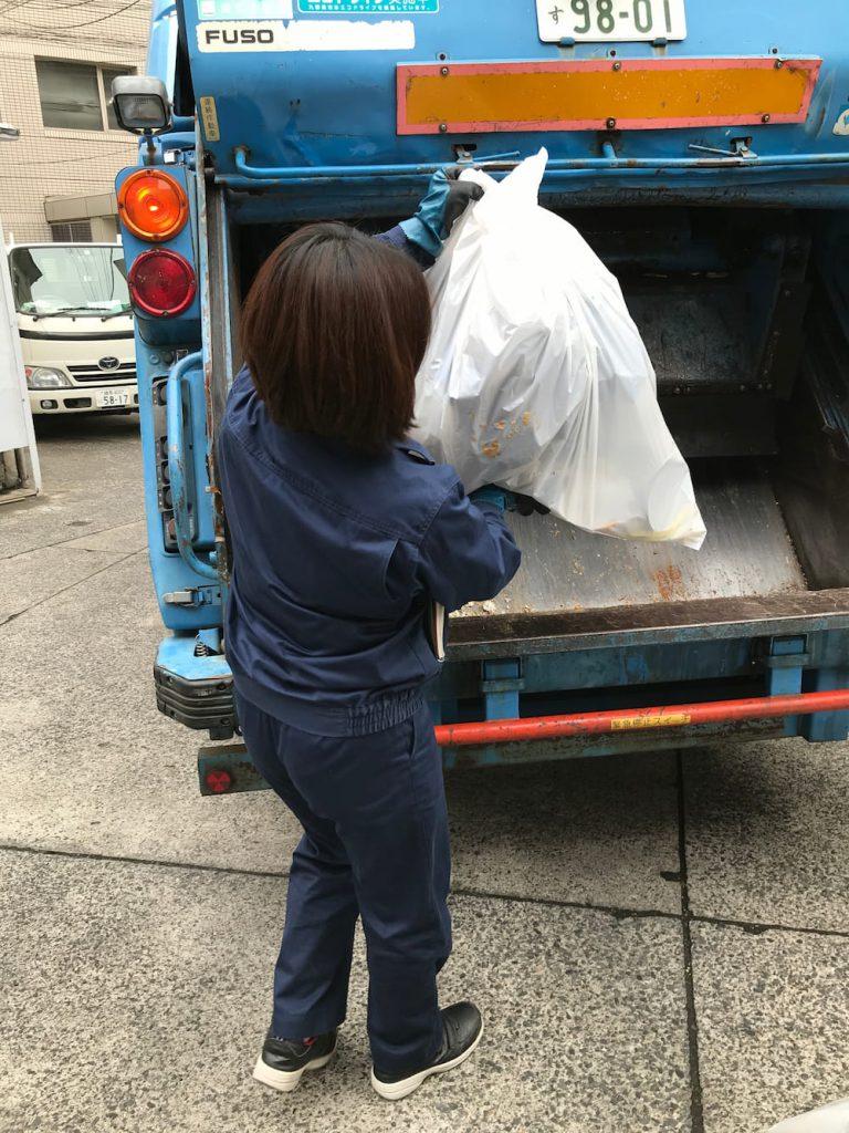 廃棄物の回収